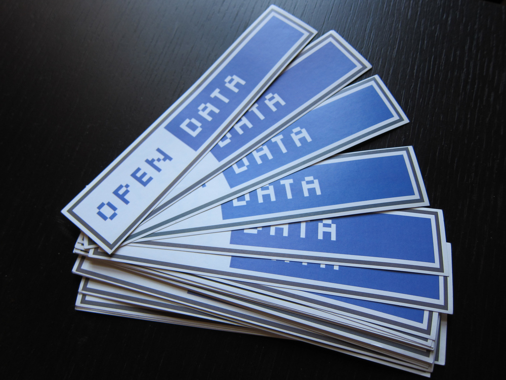 Öppna data stickers
