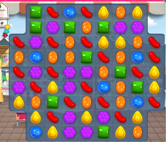 Candy crush saga - optimal drivkraftstillämpning!