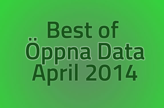 Best of Öppna data april 2014